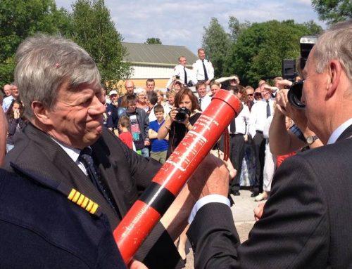 Opening brandweerkazerne Brandweer Avenhorn